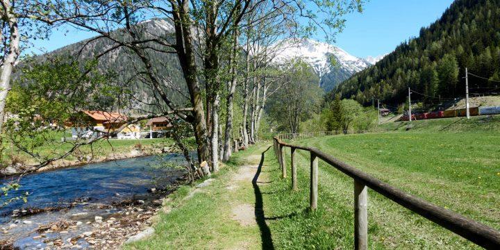 Fußweg am Mallnitzbach