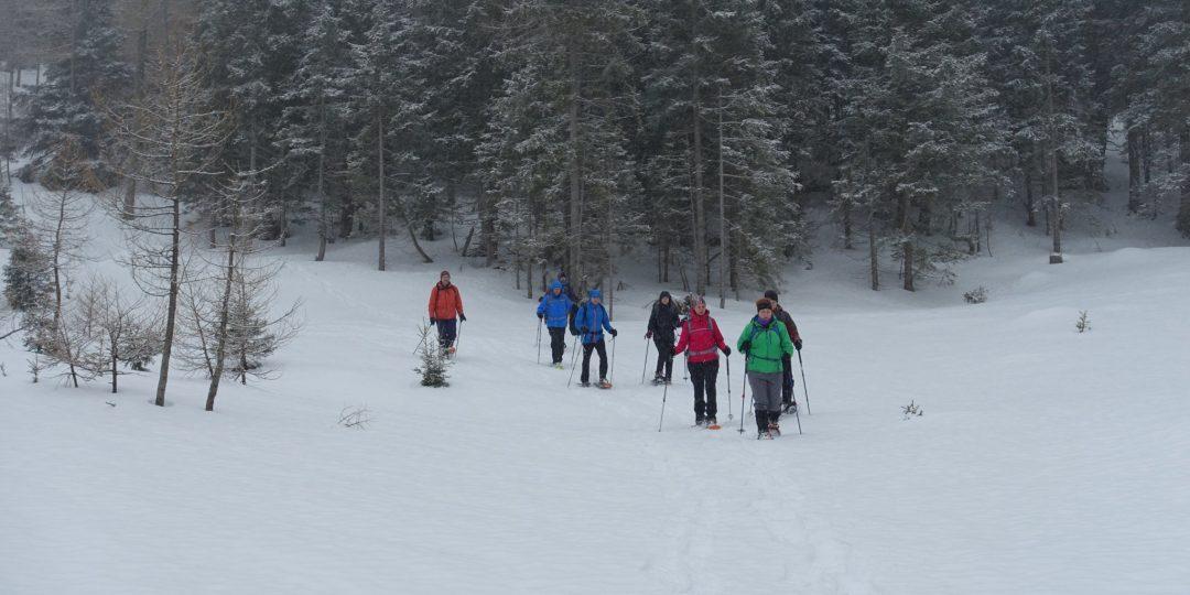 Schneeschuhwandern wie es sein soll