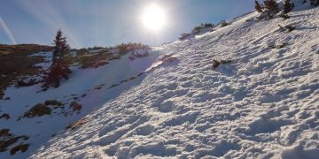 Der Fadensteig am Schneeberg