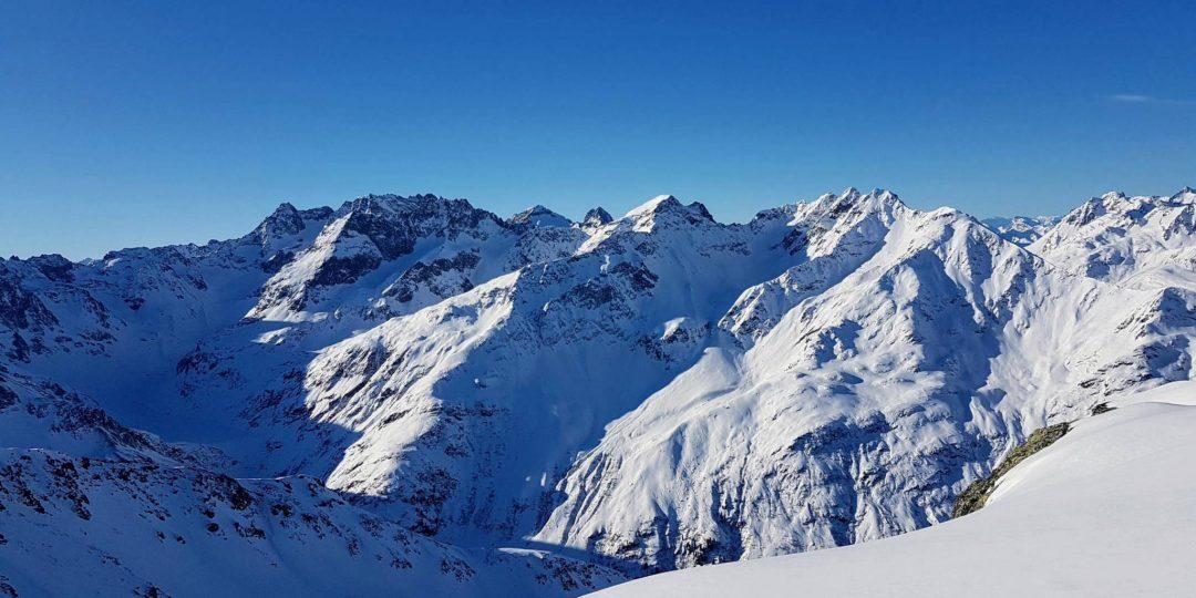Blick Richtung Große Sulzspitze