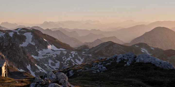 Blick nach Westen vom Schiestlhaus - Foto: Birgit Reiter