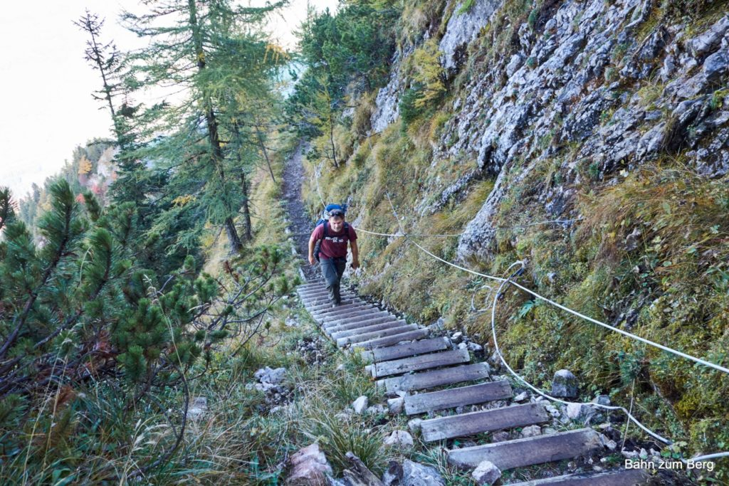 Ein Wort zum Reitsteig: Stufen!