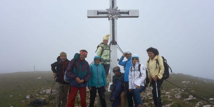 Am Gipfel des Windbergs