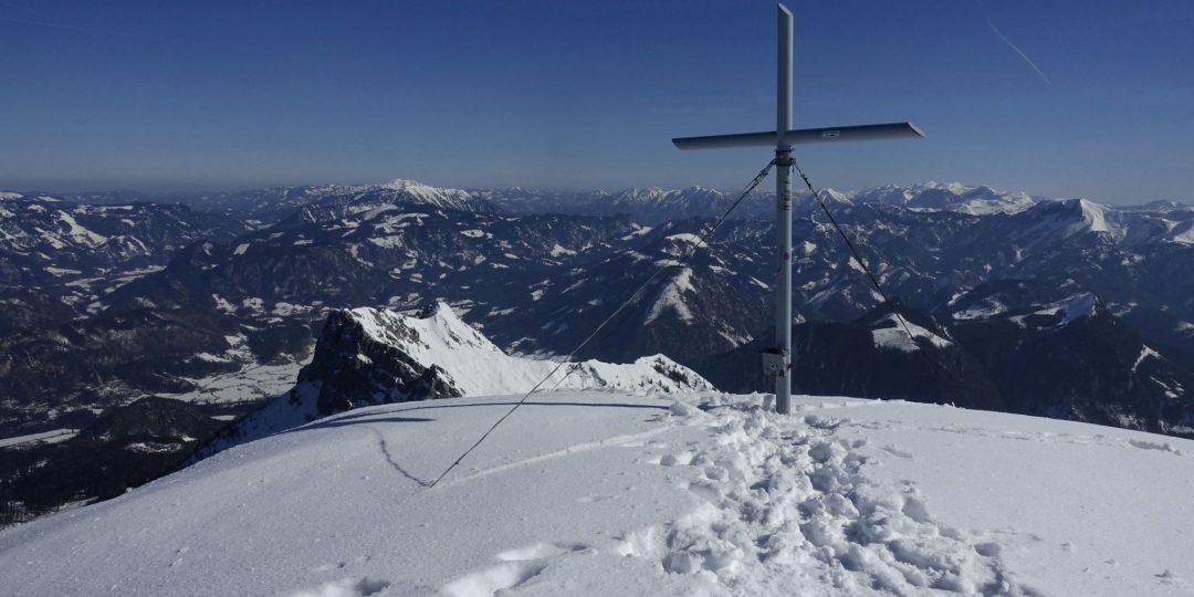 Gipfel Tamischbachturm (Skitour) © Peter Backé