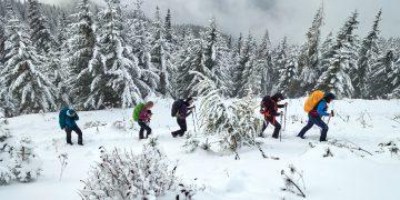 Gretchensteig im 1. Schnee