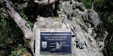 Schnell einmal über den Mödlinger Klettersteig