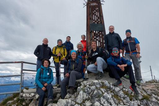 Am Gipfel des Geierecks. Foto: Martin Heppner