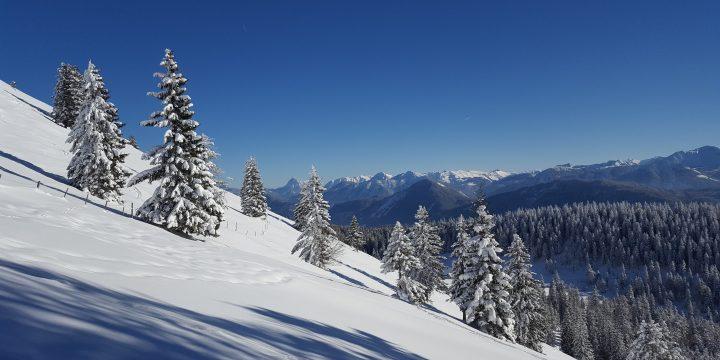 Herrliches Panorama vom Jochberg. Foto: Markus Büchler
