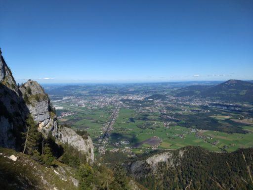 Tiefblick auf Salzburg. Foto: Nikolaus Vogl