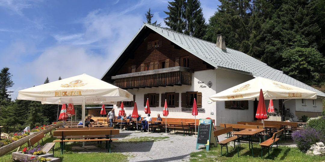 Emser Hütte. Foto: Reinhard Dayer