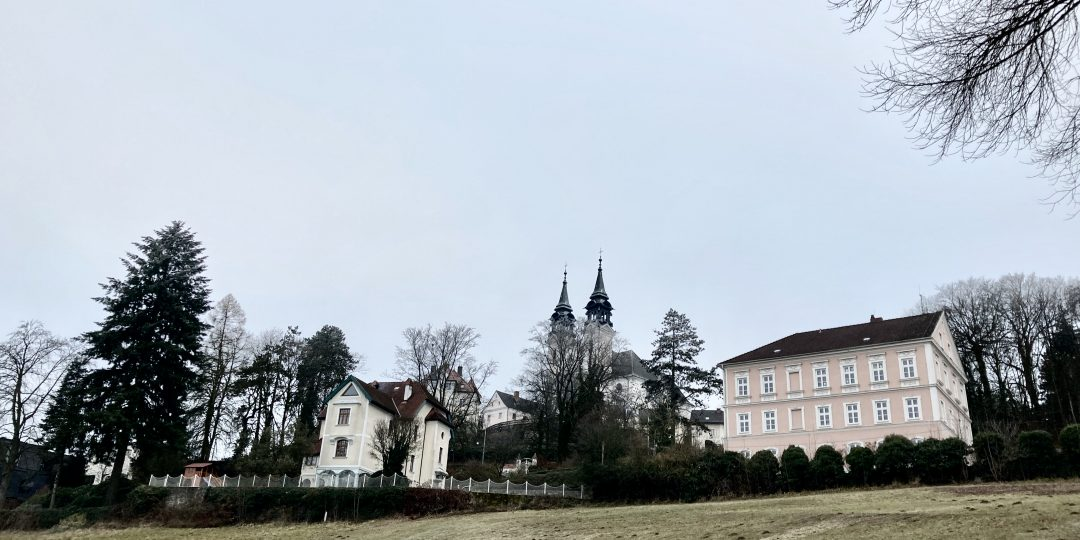 Blick auf die Pöstlingbergkirche. Foto: Stefan Hochhold