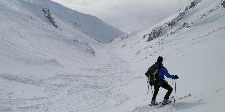 Einfahrt in den Wurzengraben. Foto: Alpenverein Edelweiss