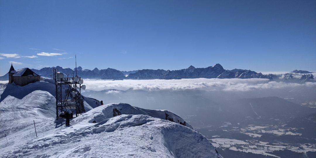 Blick vom Gipfel nach Süden. Foto: Martin Heppner