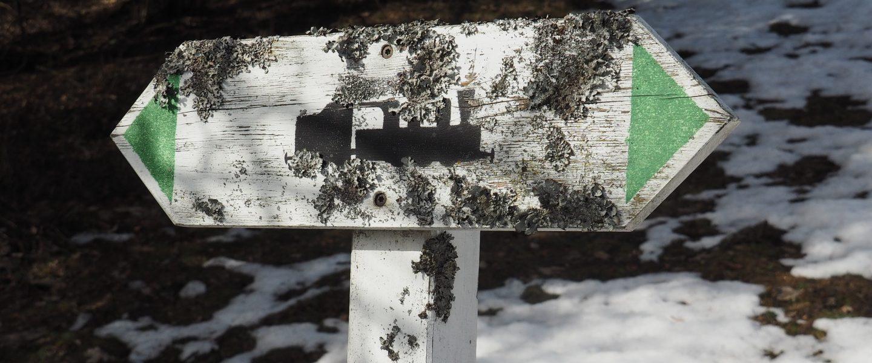 Markante Tafeln. Foto: Gerold Petritsch