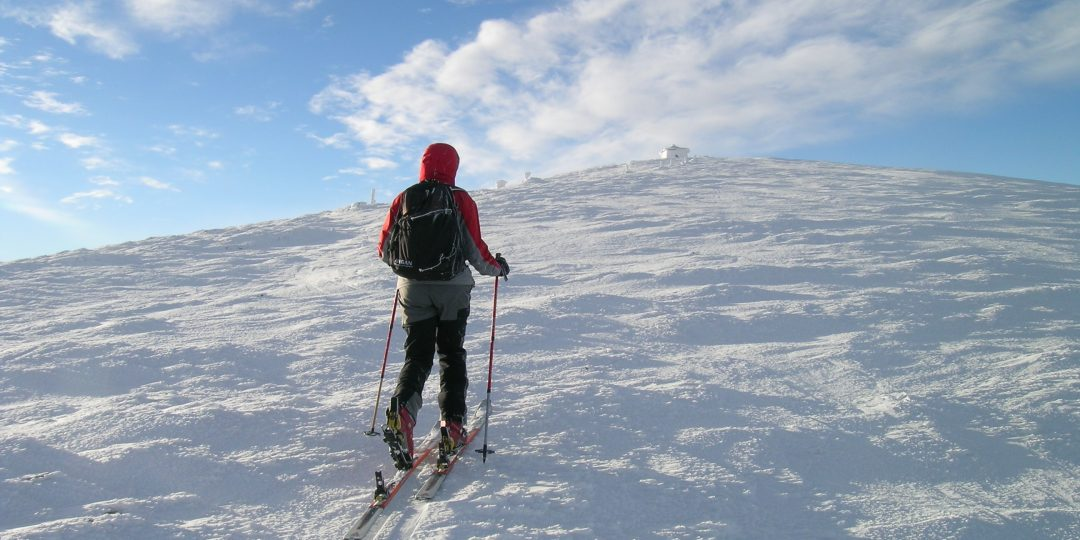 Gipfelwärts zur Heukuppe. Foto: Alpenverein Edelweiss