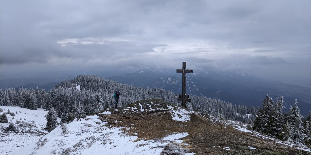 Rennfeld Gipfel