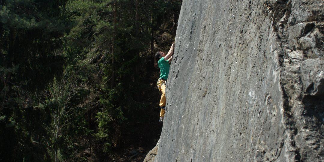 Klettergarten Töschling. Foto: Stefan Lieb
