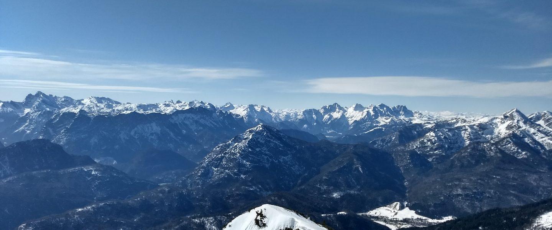 Am Gipfel des Gamsknogel. Foto: Nikolaus Vogl