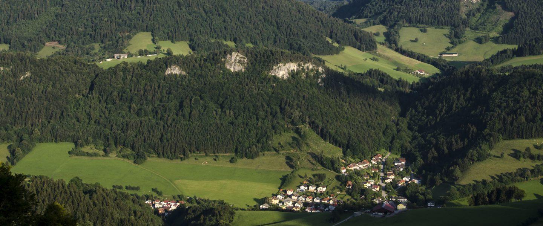 Frankenfels. Foto: Hermann Leb