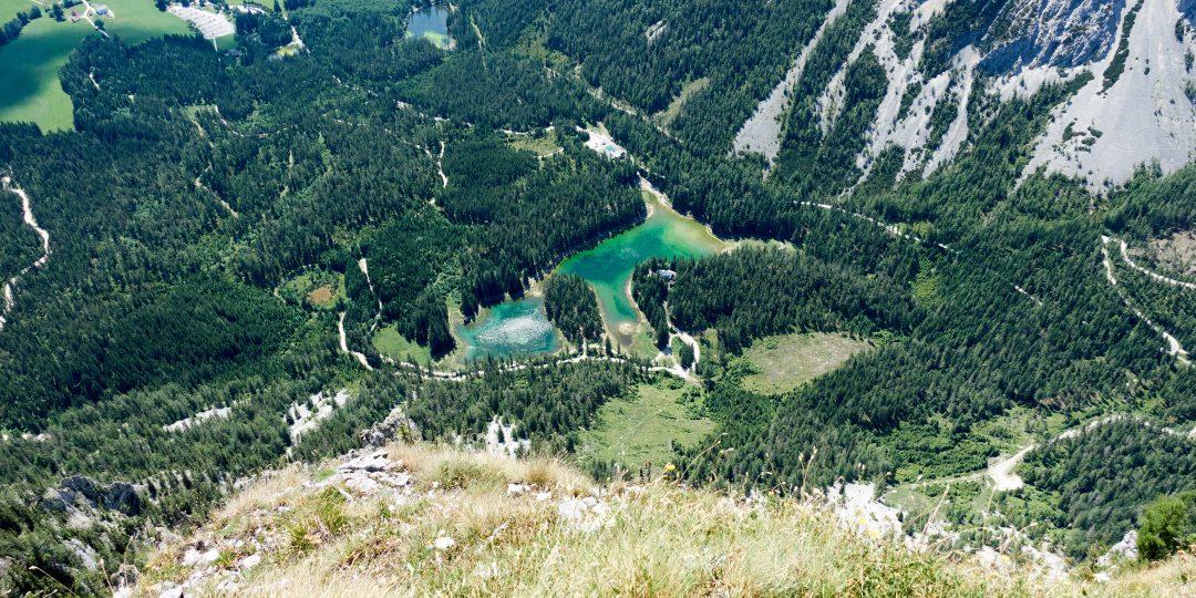 Grüner See vom Gipfel der Pribitz. Foto: Martin Heppner