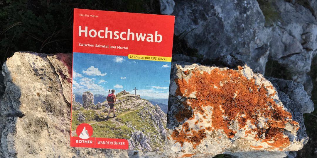 Ein neues Hochschwab Wanderbuch. Foto Peter Backé