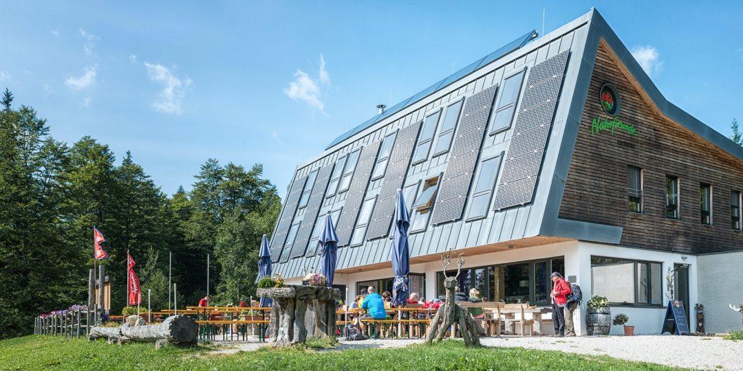 Naturfreundehaus Knofeleben. Foto: Doris List-Winder/Naturfreunde